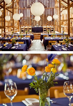 Yellow Lights Up Navy! | Smart Ideas For Your Events